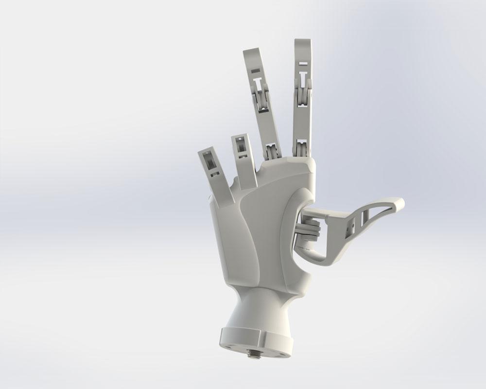 دانلود پروژه طراحی پروتز دست مصنوعی رباتیکی (2)