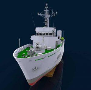 دانلود پروژه طراحی کشتی جنگی (ناوشکن) HMS Arun (2)