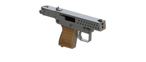 دانلود پروژه طراحی اسلحه مینی پیستول (2)
