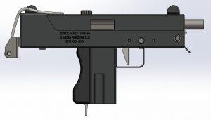 دانلود پروژه طراحی اسلحه MAC-11