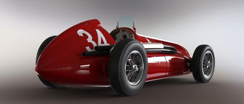 دانلود پروژه طراحی خودرو اسپرت کلاسیک آلفارومئو 158
