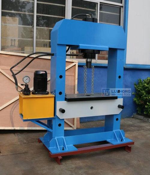 دانلود پروژه طراحی دستگاه پرس هیدرولیک برقی