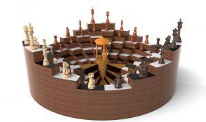 دانلود پروژه طراحی صفحه شطرنج 3 نفره مفهومی