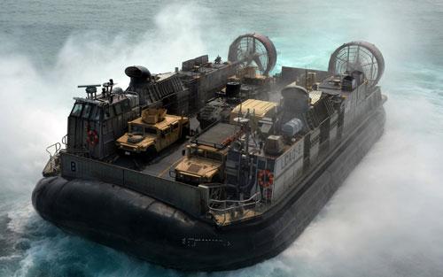 دانلود پروژه طراحی هاورکرافت نظامی LCAC