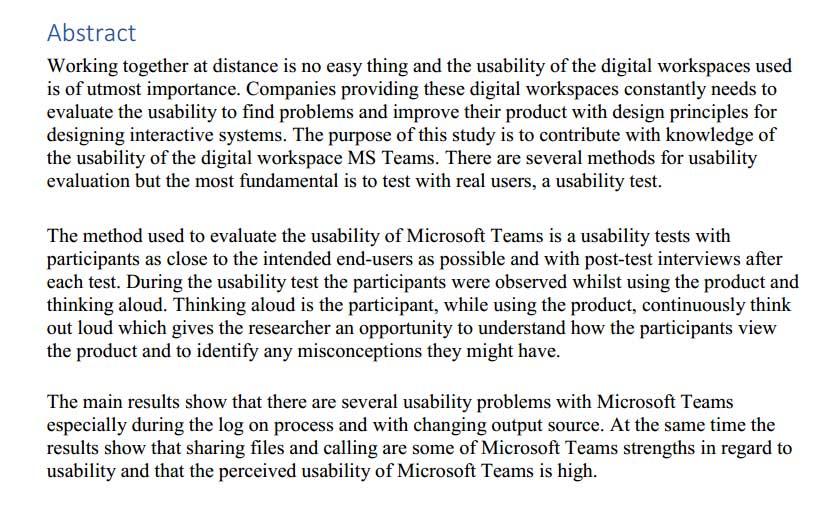 دانلود پایان نامه : بررسی دور کاری در تیم های شرکت مایکروسافت