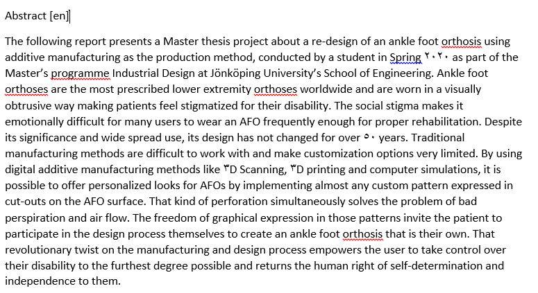 دانلود پایان نامه : طراحی و ساخت سفارشی ارتز مچ پا با روش های مدرن