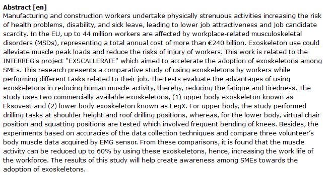 دانلود پایان نامه :بررسی کاهش آسیب دیدگی کارگران با اسکلت خارجی
