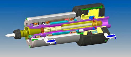 دانلود پروژه طراحی اسپیندل تغییر ابزار CNC