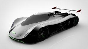 دانلود پروژه طراحی خودروی مفهومی سوپرکار