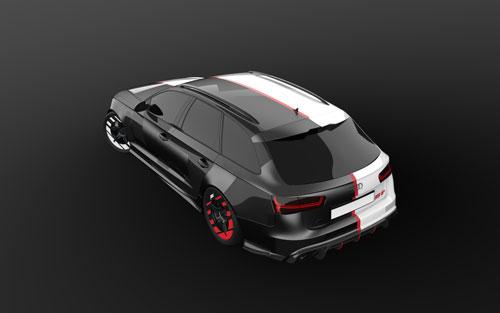 دانلود پروژه طراحی خودرو آئودی RS6