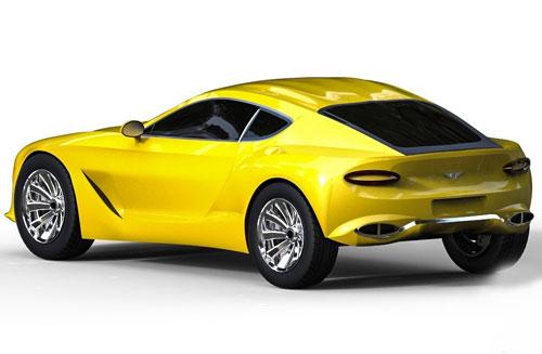 دانلود پروژه طراحی خودرو بنتلی Bentley EXP 10 Speed 6