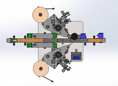 دانلود پروژه طراحی دستگاه لیبل زن دو طرفه تمام اتوماتیک