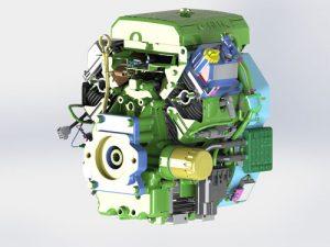 دانلود پروژه طراحی موتور برق کوهلر (دیزل ژنراتور)