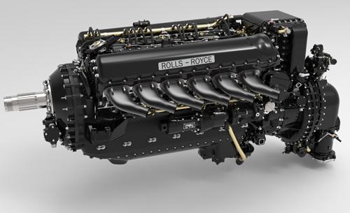 دانلود پروژه طراحی موتور هواپیما رولز رویس مرلین