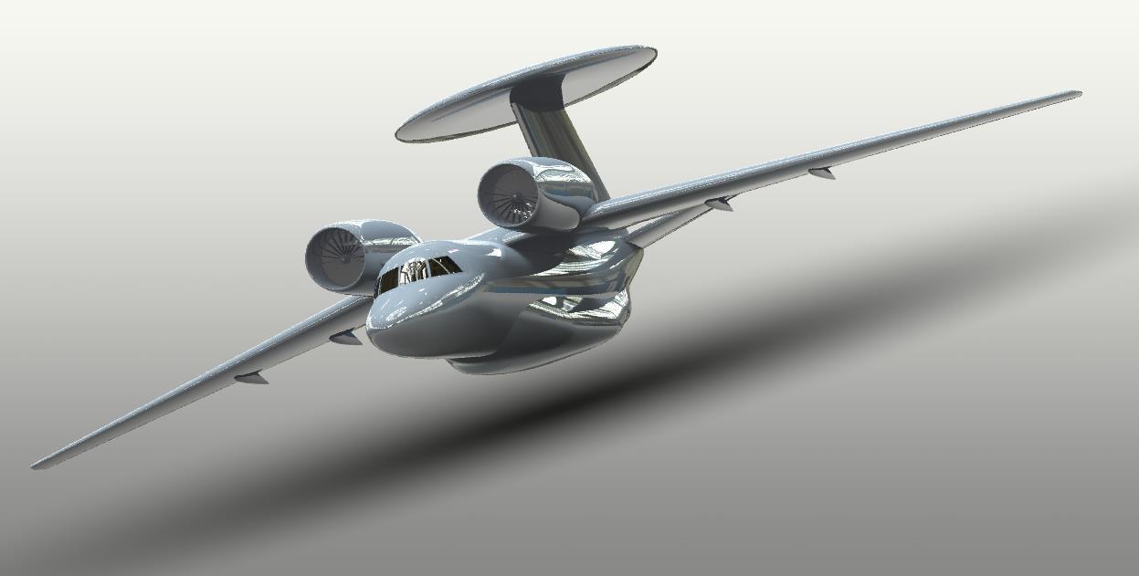 دانلود پروژه طراحی هواپیمای جنگنده چندمنظوره آنتونوف An-71