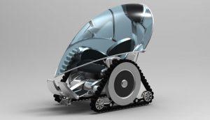 دانلود پروژه طراحی ویلچر رباتیک مدرن