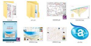 دانلود پروژه نقشه های شهرداری , گردشگری و اطلس مازندران (ساری)