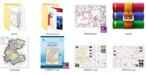 دانلود پروژه نقشه های شهرداری , گردشگری و اطلس مرکزی (اراک)