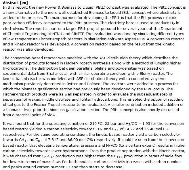 دانلود پایان نامه : ارزیابی روش PBtL برای تولید زیست سوخت از چوب