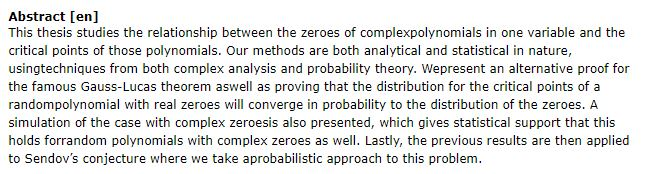 دانلود پایان نامه : بررسی اثبات جایگزینی برای قضیه گاوس- لوکاس در چند جمله ای ها