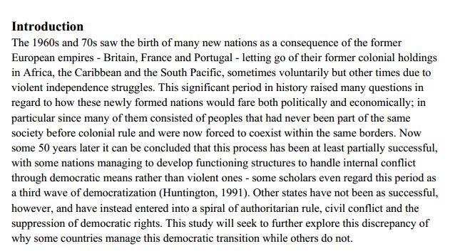 دانلود پایان نامه : بررسی اجتماع گرایی و مدیریت حکومت کشورها پس از استعمار