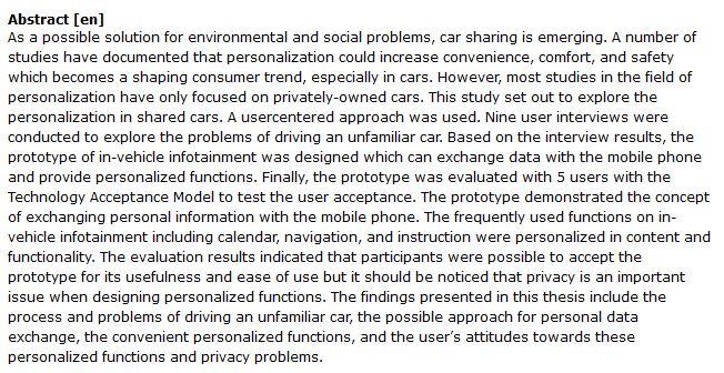 دانلود پایان نامه : بررسی ایده خودروی اشتراکی جهت حل مشکلات زیست محیطی و اجتماعی