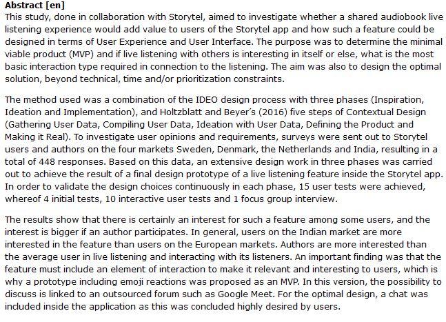 دانلود پایان نامه : بررسی ایده طراحی اپلیکیشن کتاب صوتی با قابلیت گوش دادن چند نفره