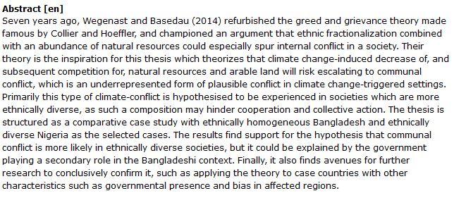 دانلود پایان نامه : بررسی تاثیر کاهش منابع طبیعی بر درگیری های قومی و منطقه ای