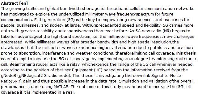 دانلود پایان نامه : بررسی تبدیل روتر به رله جهت افزایش پوشش آنتن دهی 5G