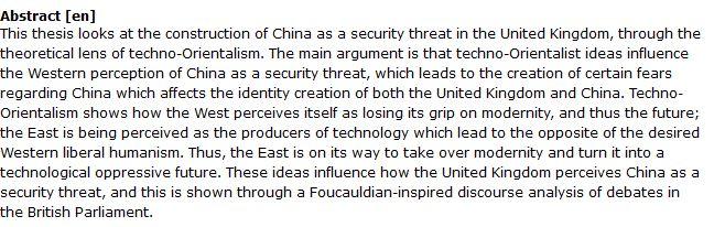 دانلود پایان نامه : بررسی تهدیدات امنیتی فناوری های چینی بر هویت غربی