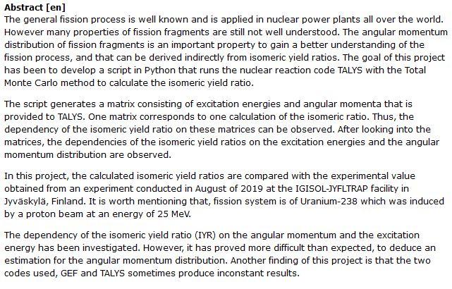 دانلود پایان نامه : بررسی حرکت زاویه ای شکافت هسته ای در محاسبات ایزومریک