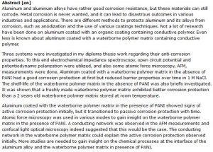 دانلود پایان نامه : بررسی خوردگی آلومینیوم پوشش داده شده با ماتریس پلیمری
