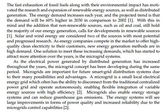دانلود پایان نامه : بررسی امکان سنجی ریزشبکه ها و تاثیر بر ذخیره انرژی , کیفیت برق و حفظ محیط زیست