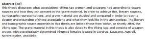 دانلود پایان نامه : بررسی زنان جنگجوی عصر وایکینگ و سلاح های آنها