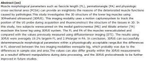 دانلود پایان نامه : بررسی سونوگرافی سه بعدی در تعیین پارامترهای مورفولوژیکی عضله