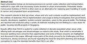 دانلود پایان نامه : بررسی سیستم های انتقال مواد زائد پنوماتیک PWCS در مناطق مسکونی