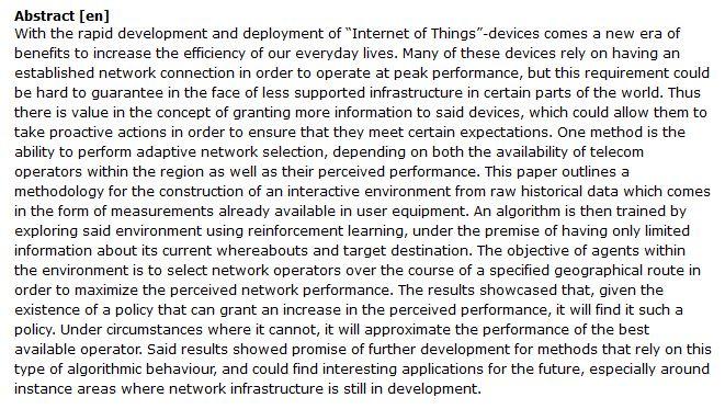 دانلود پایان نامه : بررسی شبکه انطباقی جهت انتخاب بهترین اپراتور در منطقه با استفاده از یادگیری عمیق
