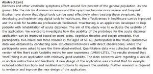 دانلود پایان نامه : بررسی طراحی یک ابزار دیجیتال برای توان بخشی و درمان سرگیجه