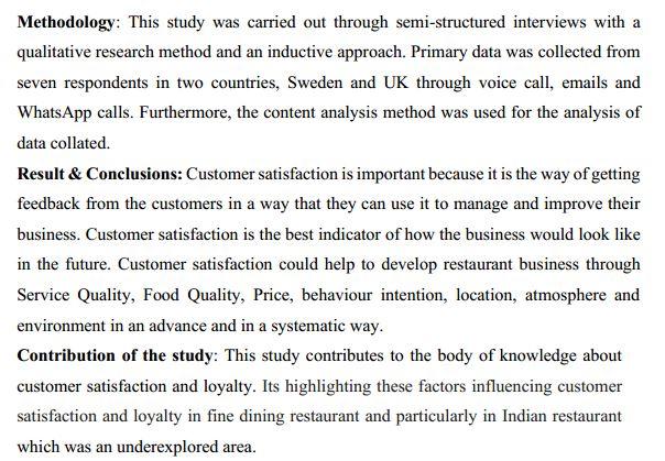 دانلود پایان نامه : بررسی عوامل موثر بر رضایت و وفاداری مشتری در صنعت مهمان نوازی