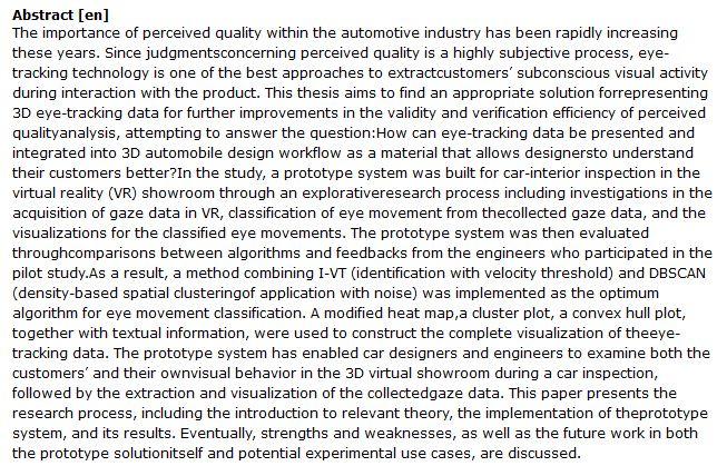 دانلود پایان نامه : بررسی فناوری ردیابی چشم 3D در خودرو