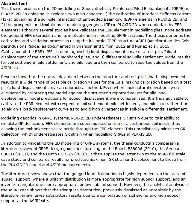 دانلود پایان نامه بررسی مدل سازی دو بعدی ژئوسنتتیکی و تحلیل روش های کالیبراسیون در PLAXIS 2D