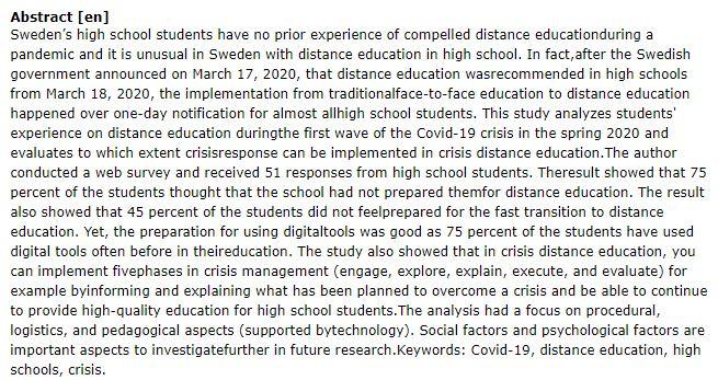 دانلود پایان نامه : بررسی مدیریت بحران آموزش مجازی دانش آموزان در همه گیری کرونا