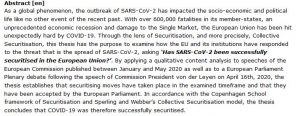 دانلود پایان نامه : بررسی نحوه ایمن سازی در برابر کروناویروس سندرم حاد تنفسی ۲ (SARS-CoV-2) در اتحادیه اروپا