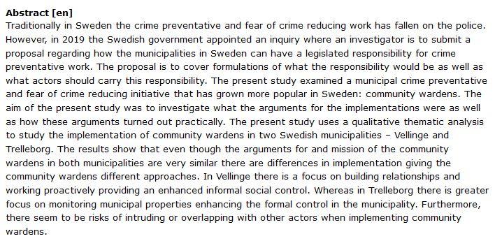 دانلود پایان نامه : بررسی نقش شهرداری ها در پیشگیری از جرائم اجتماعی