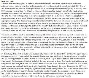 دانلود پایان نامه : بررسی پرینتر سه بعدی گرانولی با اکسترودر pellet و نظارت هوشمند بر روند چاپ