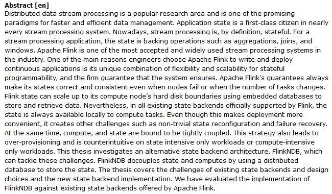 دانلود پایان نامه : بررسی چالش ها و بهبود فرآیند سیستم های استریم اکسترنال