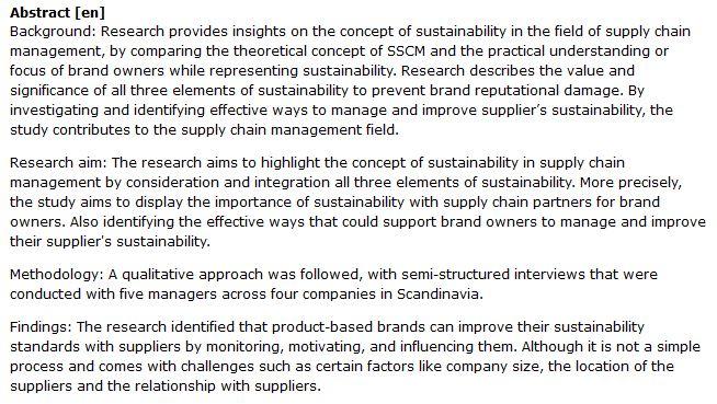 دانلود پایان نامه : بررسی چگونگی پایداری در مدیریت زنجیره تأمین