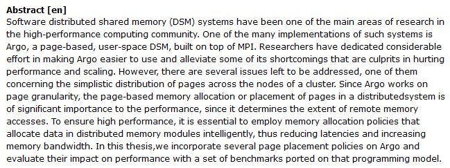 دانلود پایان نامه : بررسی Page-Based در نرم افزار سیستم حافظه مشترک توزیع شده ArgoDSM