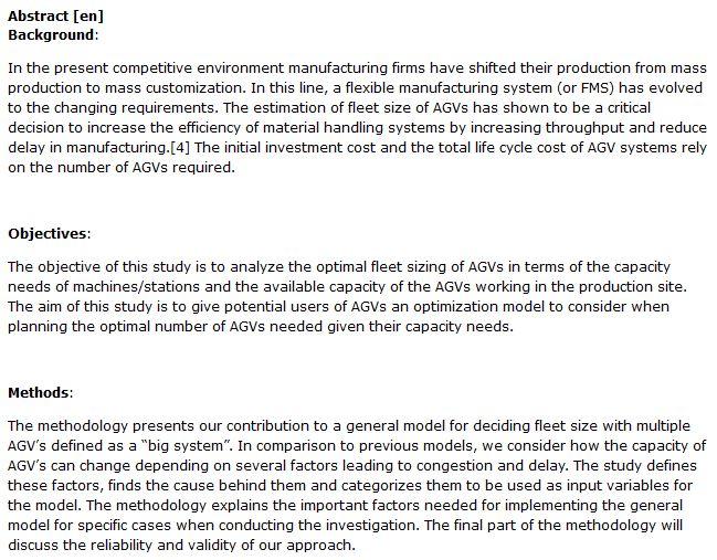 دانلود پایان نامه بهینه سازی ناوگان وسایل نقلیه هدایت شده خودکار (AGV) در صنعت