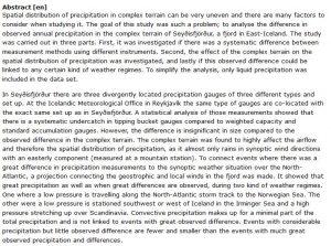دانلود پایان نامه : تجزیه و تحلیل اختلافات مشاهده شده در اندازه گیری توزیع فضایی بارش در زمین های پیچیده